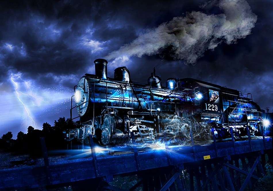 Ghost Train By Tristin Godsey Photography From United